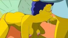 Marge quiere la polla de Homero