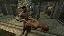 Skyrim porno Guerrera follada – Video hentai