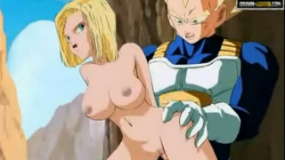 Dragon Ball Porn – Vegeta y androide 18