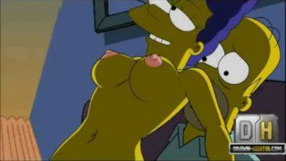 Homero se folla a Marge – Los simpsons hentai xxx