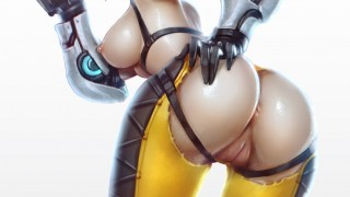 Overwatch hentai – Tracer gif collection