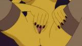 Marge se toca mientras homero se echa una paja