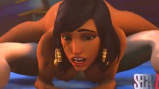 Overwatch SFM hentai – Pharah 3D