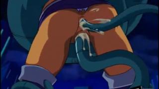 Teen titans Raven y starfire violadas por tentaculos